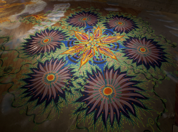 Joe Mangrum Visual artist -Sand Paintings