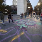Sand Painting at Washington Square