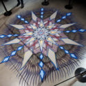 Prabal Gurung Fashion Week 2018, Sand Paintings by Joe Mangrum